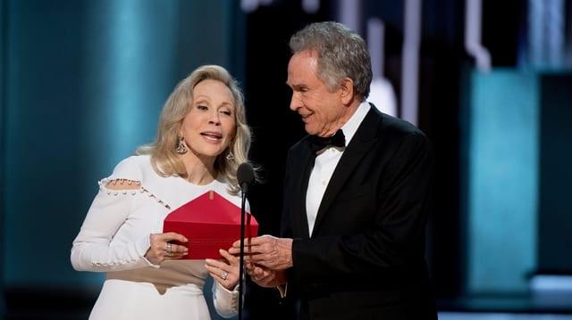 Bonnie and Clyde Schauspieler auf der Oscarverleihung 2017