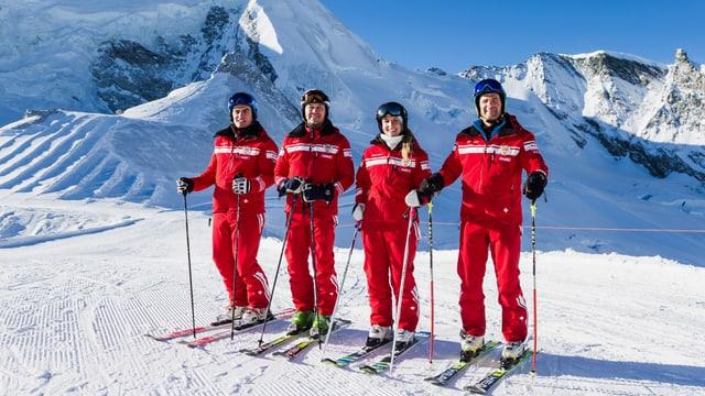 Video ««SRF bi de Lüt – Die Skilehrer» in Saas-Fee (3/3)» abspielen