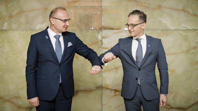 Gordan Grlic Radman und Heiko Maas