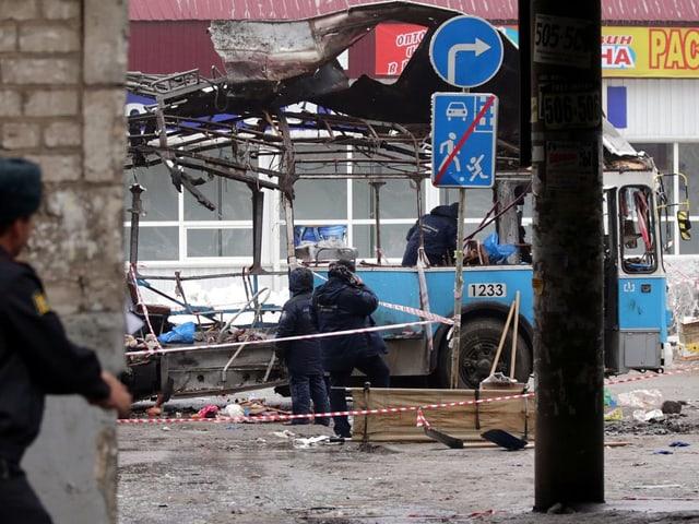 Terror in Wolgograd.