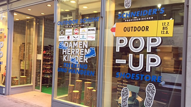 Pop-up-Store St. Gallen