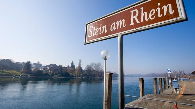 Ortsschild Stein am Rhein