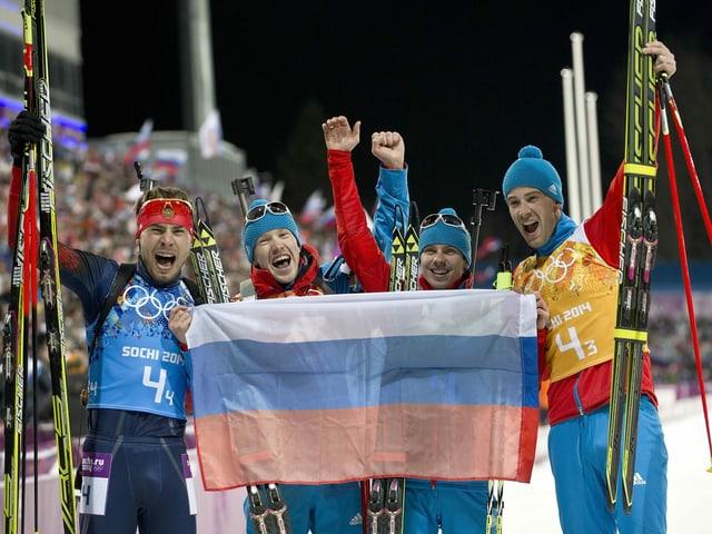 Russische Biathlon-Staffel