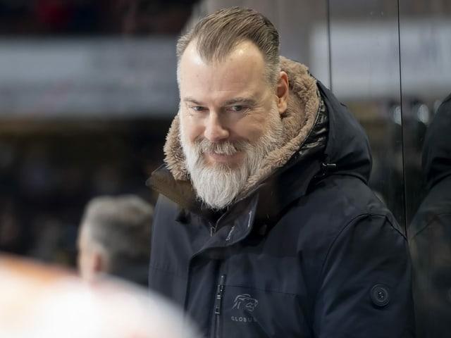 Rikard Grönborg von den ZSC Lions.