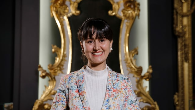 Halima Jemai, Museumsführerin aus Tunesien