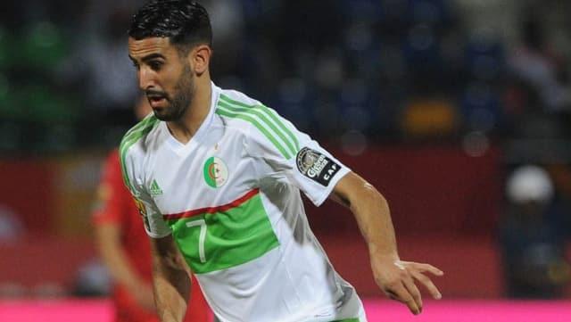 Riyad Mahrez im Dress von Algerien