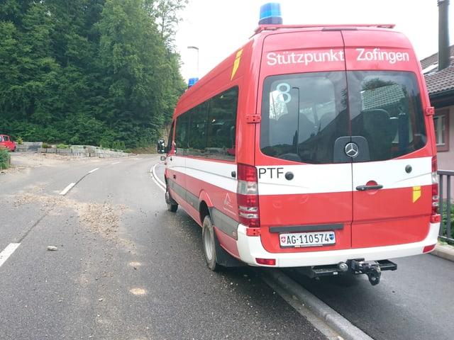 Die Feuerwehr in Zofingen hatte in der Nacht alle Hände voll zu tun.