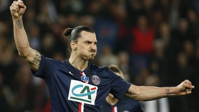 Il giugader da ballape Zlatan Ibrahimovic.