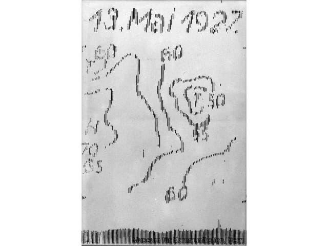 Fax-Dokument.