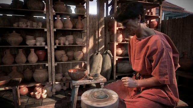 Video «Das Römer-Experiment -  Die römische Wirtschaft (7/8) Latein» abspielen