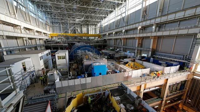 Reaktor von Innen.