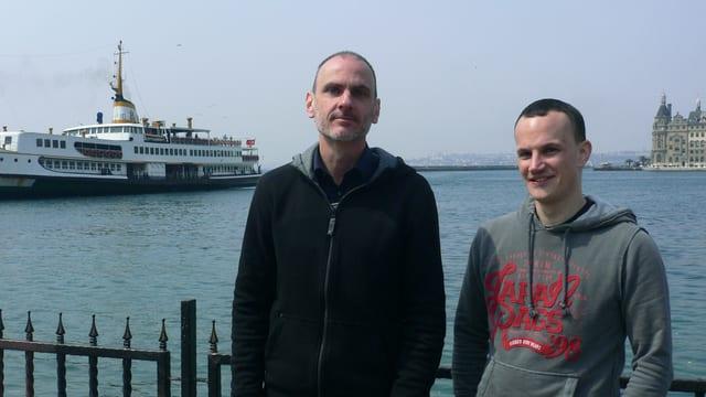 Mathias Jud (rechts) und Christoph Wachter