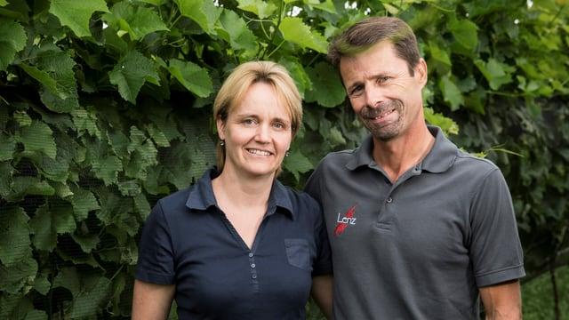 Karin und Roland Lenz, Weinproduzenten