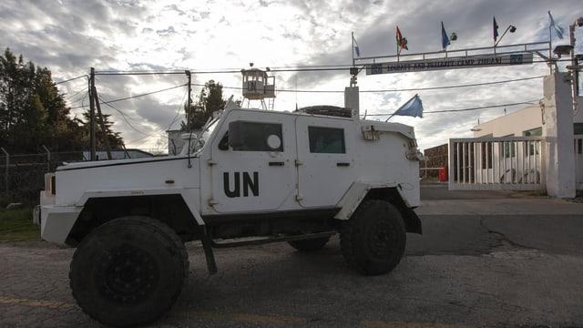 Ein UNO-Fahrzeug