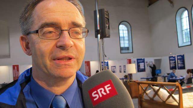 Thomas Zuber, Chef der Kantonspolizei Solothurn.