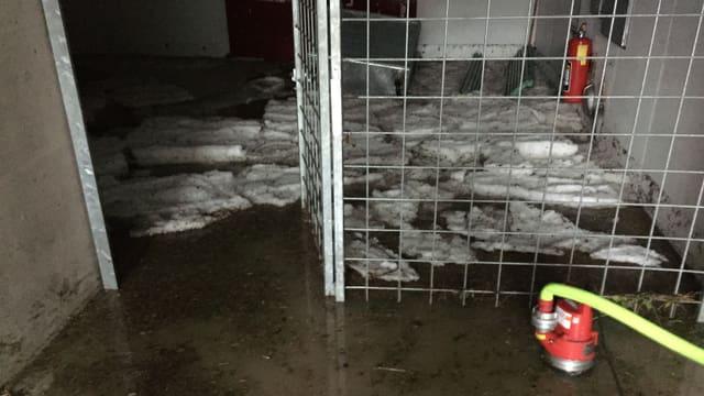 Keller mit viel Wasser
