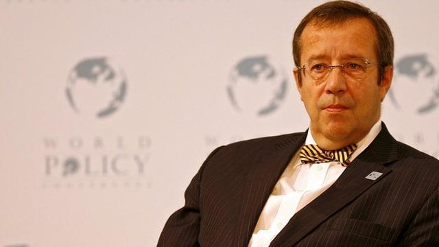 Präsident Ilves