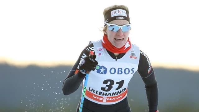 Nadine Fähndrich.