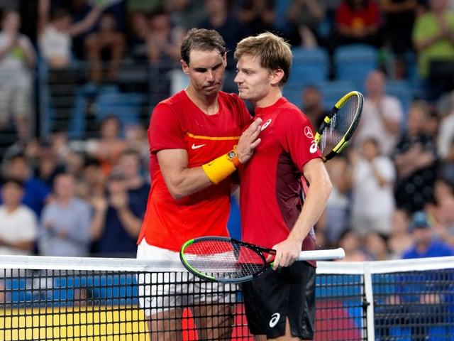 Rafael Nadals Niederlage gegen David Goffin blieb ohne Konsequenzen.