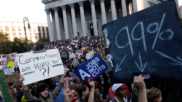 Occupy Demonstration in New York