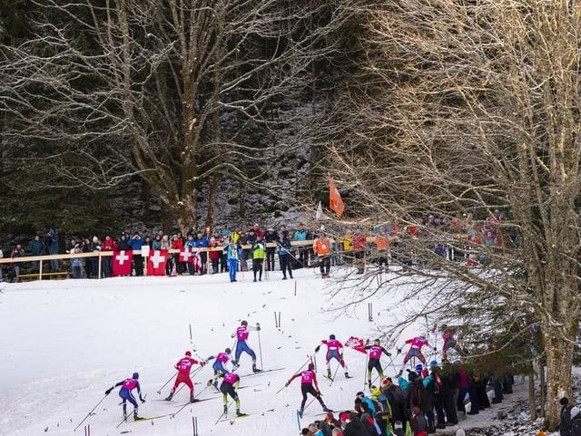 Findet Langlauf-Cross bald auch im Weltcup statt?