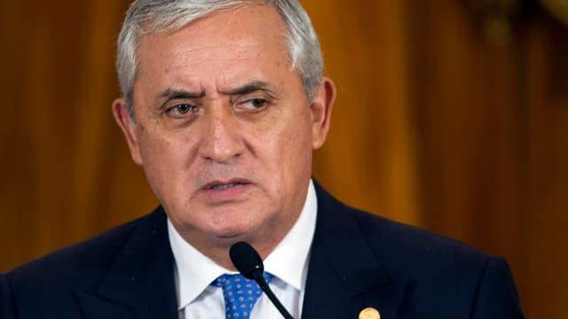 Guatemalas Präsident Otto Pérez.