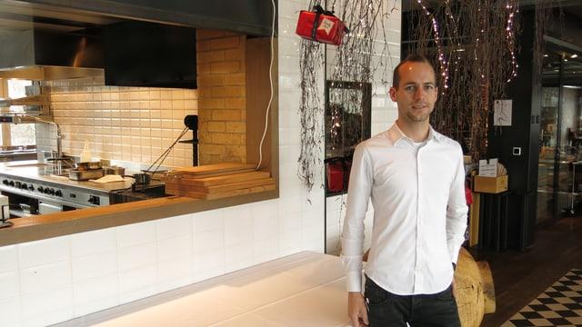 Simon Aeschbach, Stellvertretender Geschäftsführer NOA