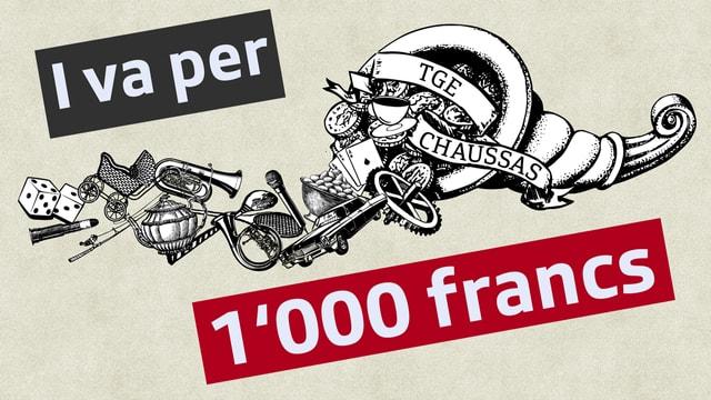 simbol cun 1000 francs