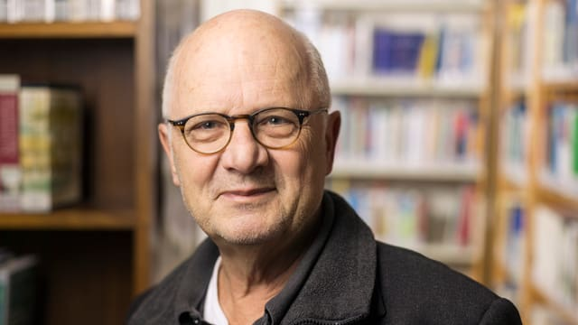 Georg Kreis in einer Archivaufnahme
