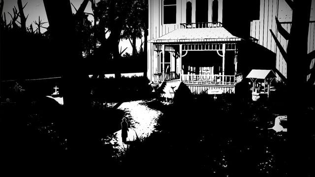 Spielszene aus dem Game «White Night».