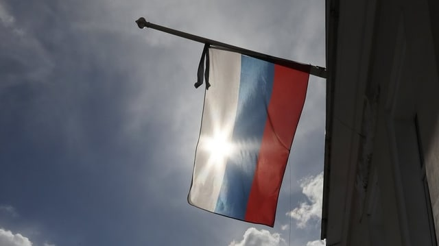Bandiera russa.