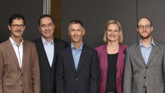 Roger Benz, Reto Stiefel, Hans-Andrea Tarnutzer, Antje Reyher, Mirco Auer