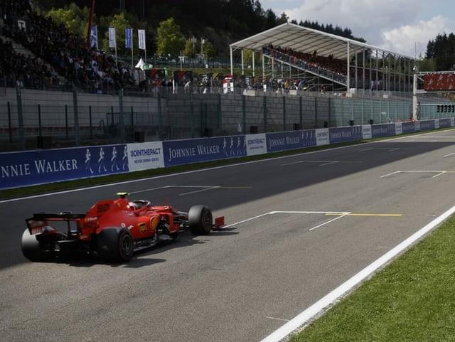 Der Formel-1-GP-Kurs im belgischen Spa.