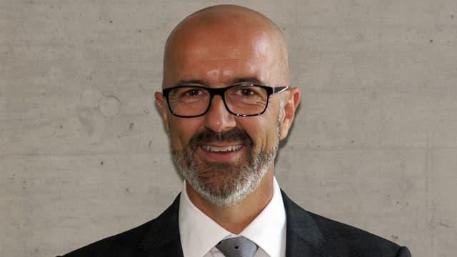 Portrait von André Ingold, Stadtpräsident von Dübendorf