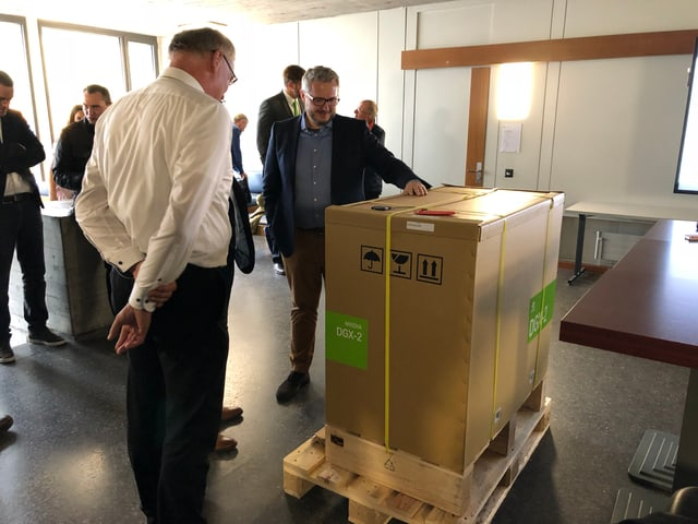 Der Supercomputer von der HSG.