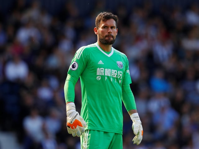 West-Brom-Keeper Ben Foster.