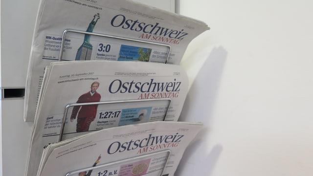 «Ostschweiz am Sonntag»