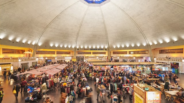 Flohmi in der Markthalle Basel