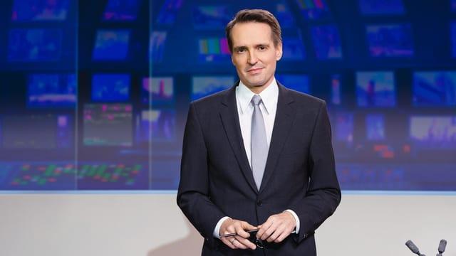 «Tagesschau»-Moderator Florian Inhauser