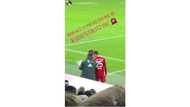Instagram-Post von Lisa Müller.
