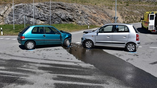 L'accident è capità sin la via d'Alvra.