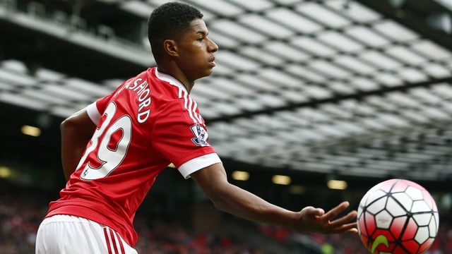 Youngster Rashford.