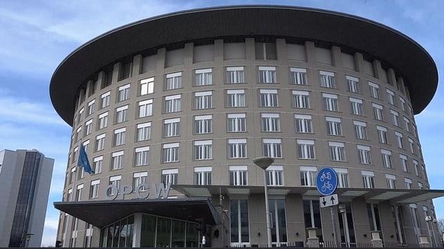 Gebäude der OPCW.