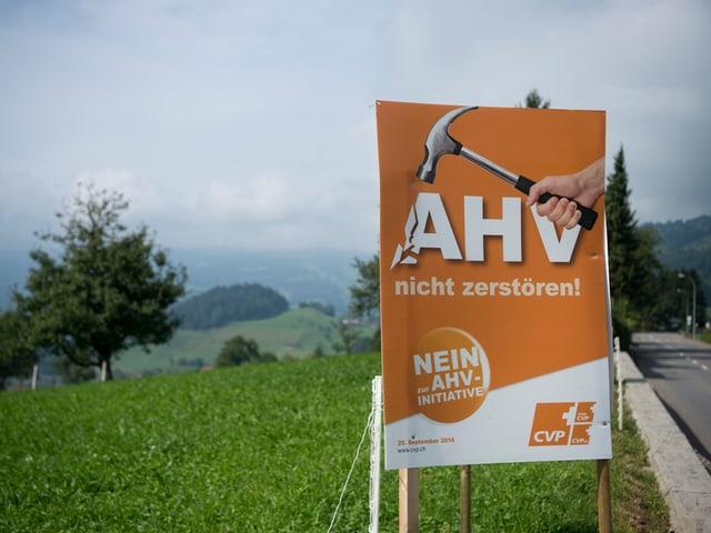 AHV-Plakat
