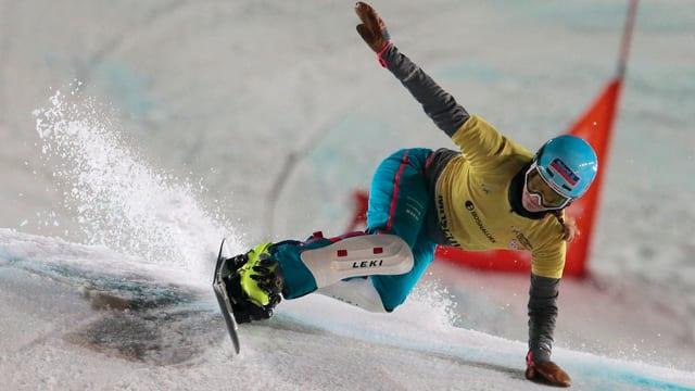 La snowboardista Patrizia Kummer