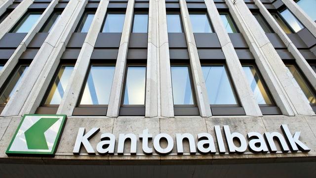 Schriftzug St.Galler Kantonalbank