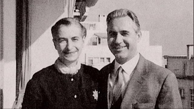 Denissenko und Marie-Louise Jeanmaire.