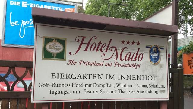 Hotel «Mado» in Köln.