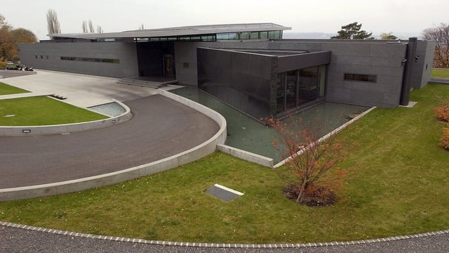 Der Hauptsitz des WEF in Cologny.