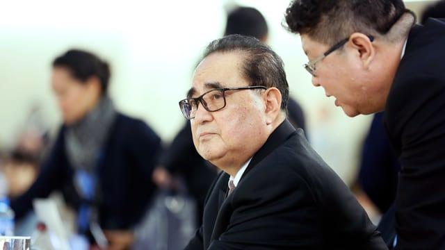 Nordkoreas Aussenminister Ri Su Yong